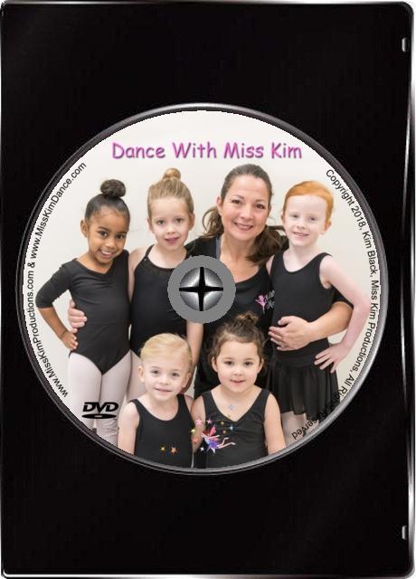 Dance with Miss Kim DVD
